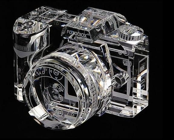 最新神作欣赏:水晶相机