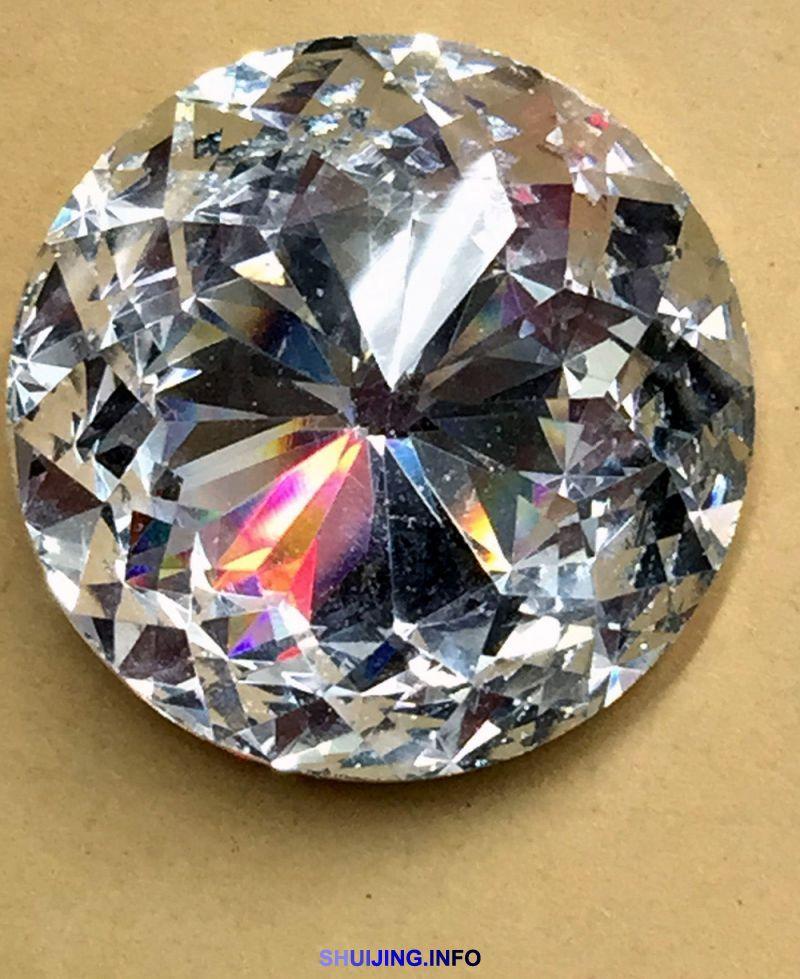 【圆形款式】各种紫荆花水晶玻璃钻