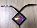 最新水晶玻璃门花