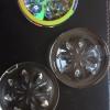 8033厂家水晶玻璃门花钻中空移门 花形透明七彩异形贴片配件