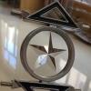 水晶玻璃平底门花钻 中空移门钻石形 透明七彩 异形贴片