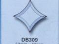 斜边玻璃贴片DB309