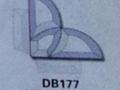 斜边玻璃贴片BD177