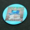3D卡通图案贴片,杯盖片,化妆盒水晶玻璃片