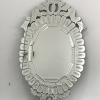 欧式复古椭圆装饰镜威尼斯挂镜 宾馆酒店会所卫浴镜雕花刻花镜
