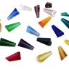供应纯水晶宝塔珠子 DIY珠子水晶散珠 珠帘饰品配件