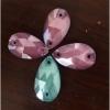 水晶玻璃新款流行摩卡色板