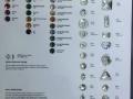 水晶玻璃水晶纽扣样板 (1)
