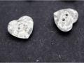 3023心形水晶纽扣玻璃钮扣12mm白色水晶 (6)