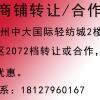 广州中大饰品区A2073档口转让或合作
