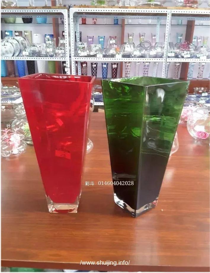 玻璃花瓶,玻璃工艺品,常用款式,形状。