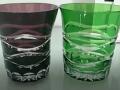 套色玻璃手工刻花产品 (2播放)