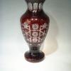 铜红繁花花瓶