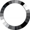 供应异形,时尚,高档矿灰色水晶表圈